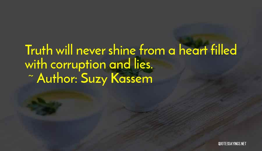 Politics And Lies Quotes By Suzy Kassem