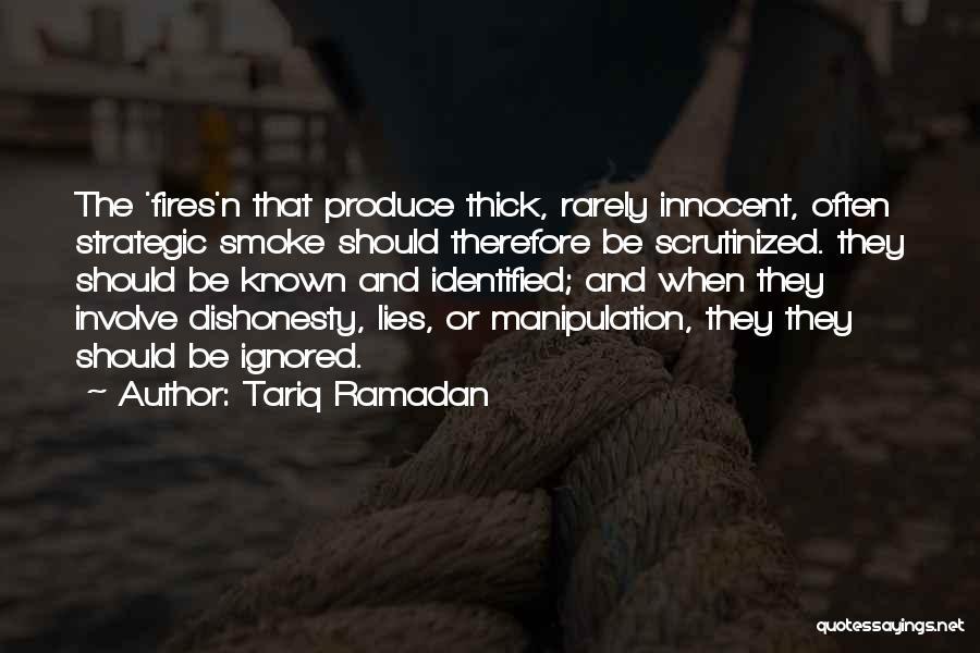 Politics And Lies Quotes By Tariq Ramadan