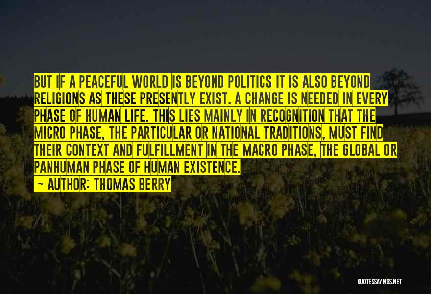 Politics And Lies Quotes By Thomas Berry