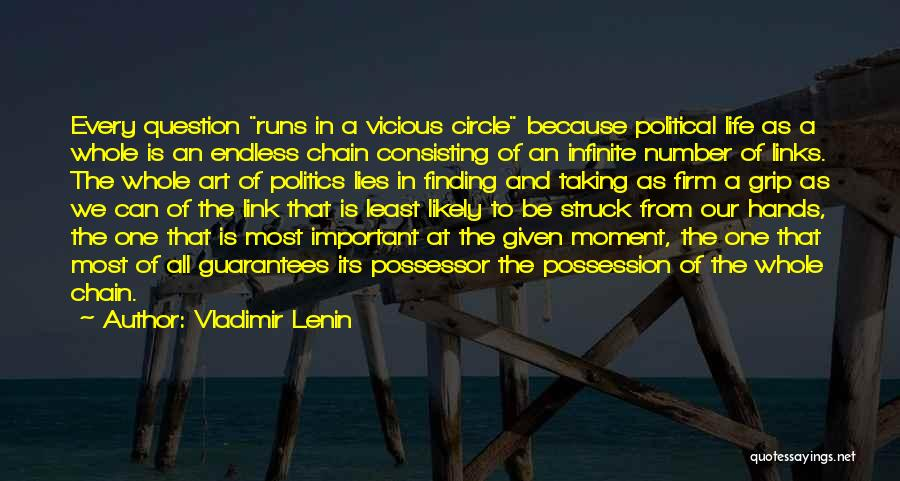 Politics And Lies Quotes By Vladimir Lenin