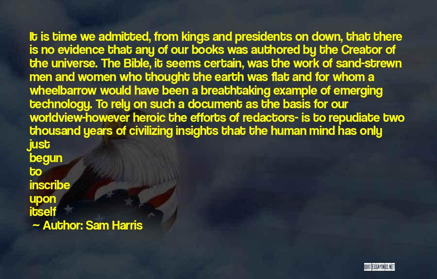 Politics In The Bible Quotes By Sam Harris