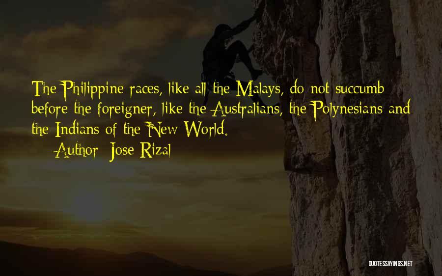 Polynesians Quotes By Jose Rizal