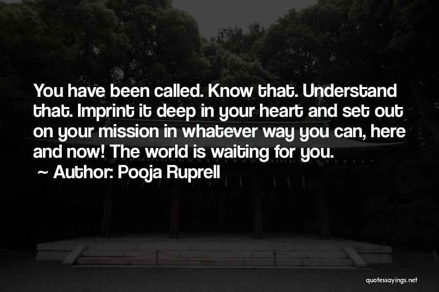 Pooja Ruprell Quotes 1041007