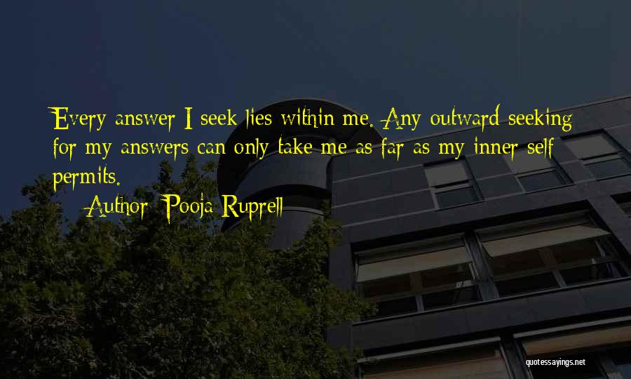 Pooja Ruprell Quotes 1206270