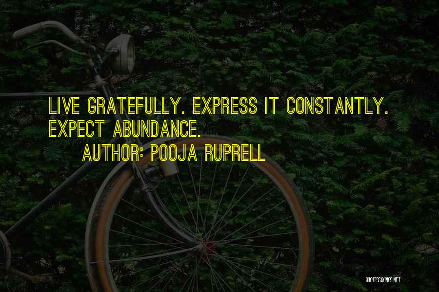 Pooja Ruprell Quotes 1233292