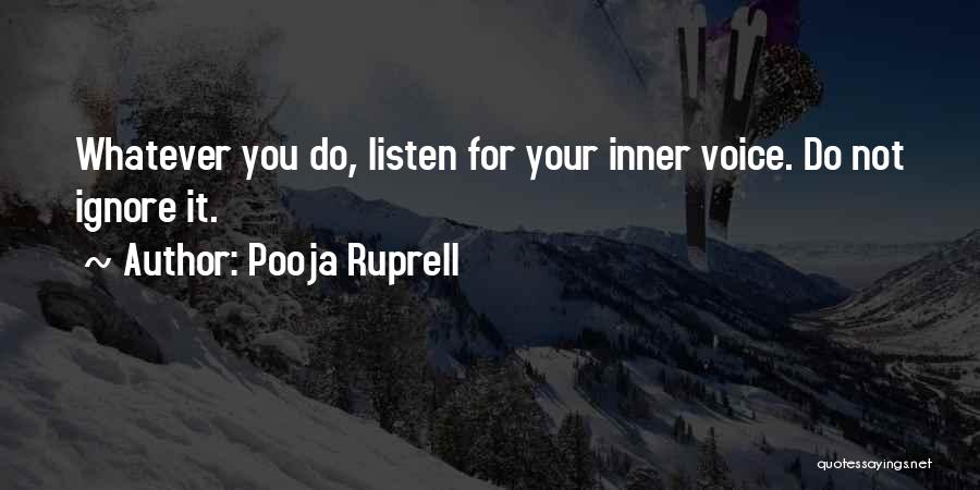 Pooja Ruprell Quotes 2053291