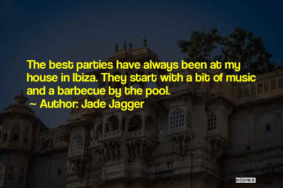Pool Parties Quotes By Jade Jagger