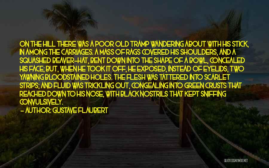 Poor Beggar Quotes By Gustave Flaubert