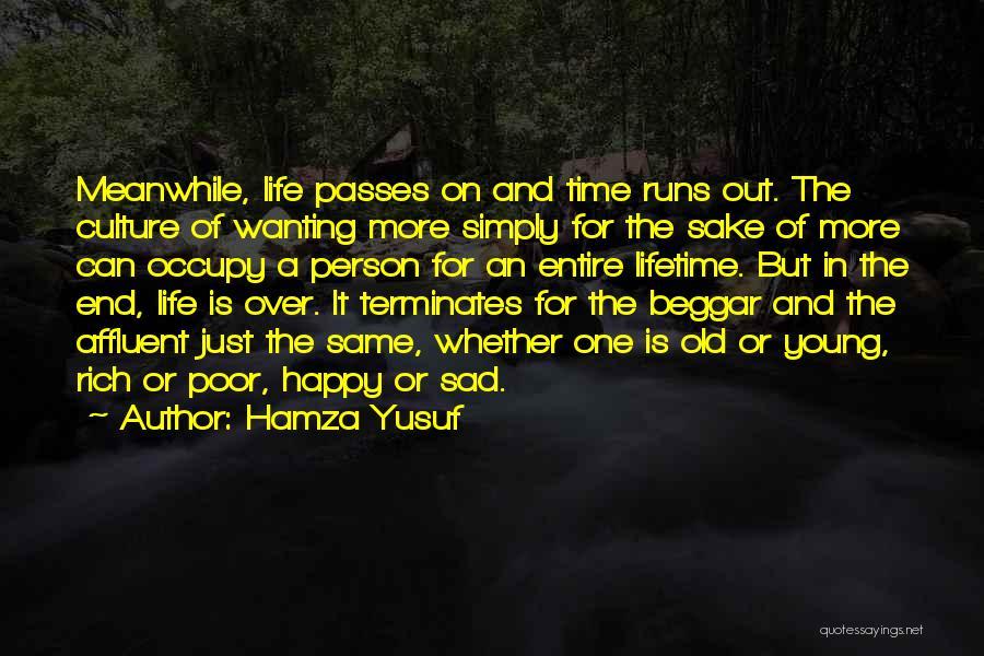 Poor Beggar Quotes By Hamza Yusuf