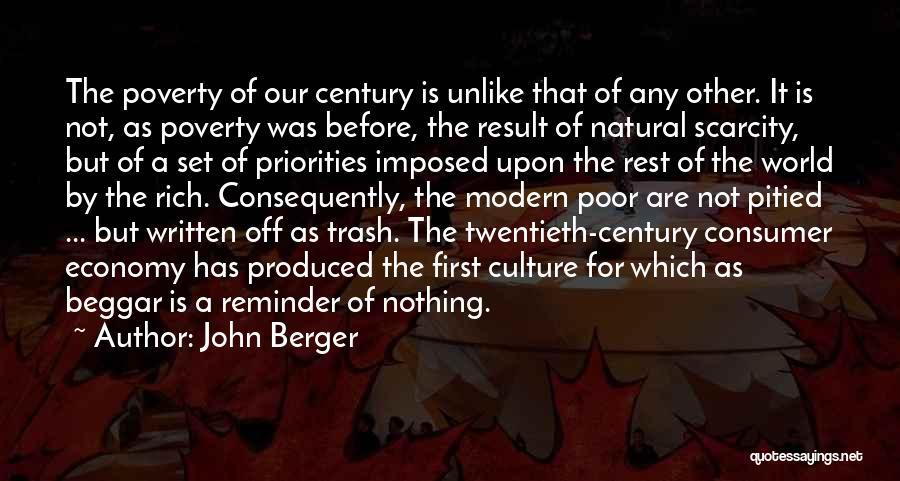 Poor Beggar Quotes By John Berger