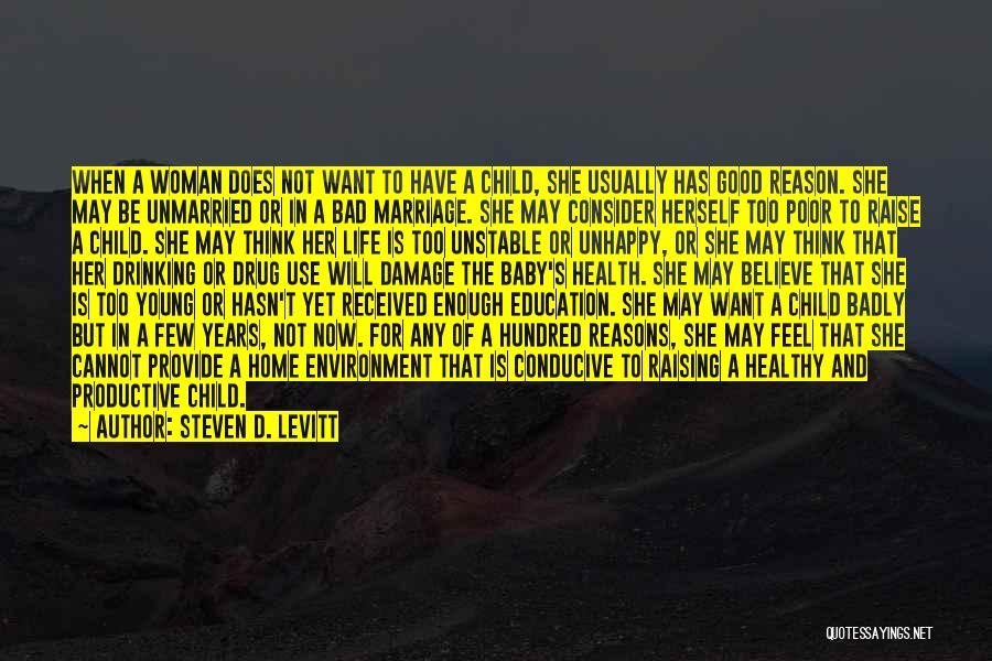 Poor Child Education Quotes By Steven D. Levitt