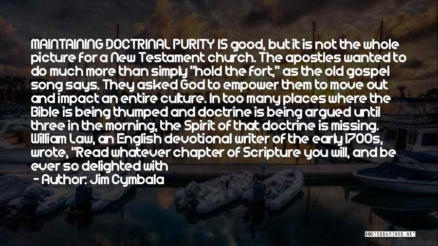 Poor In Spirit Bible Quotes By Jim Cymbala