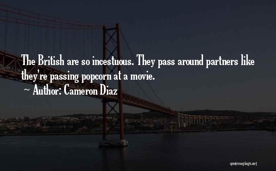 Popcorn Quotes By Cameron Diaz