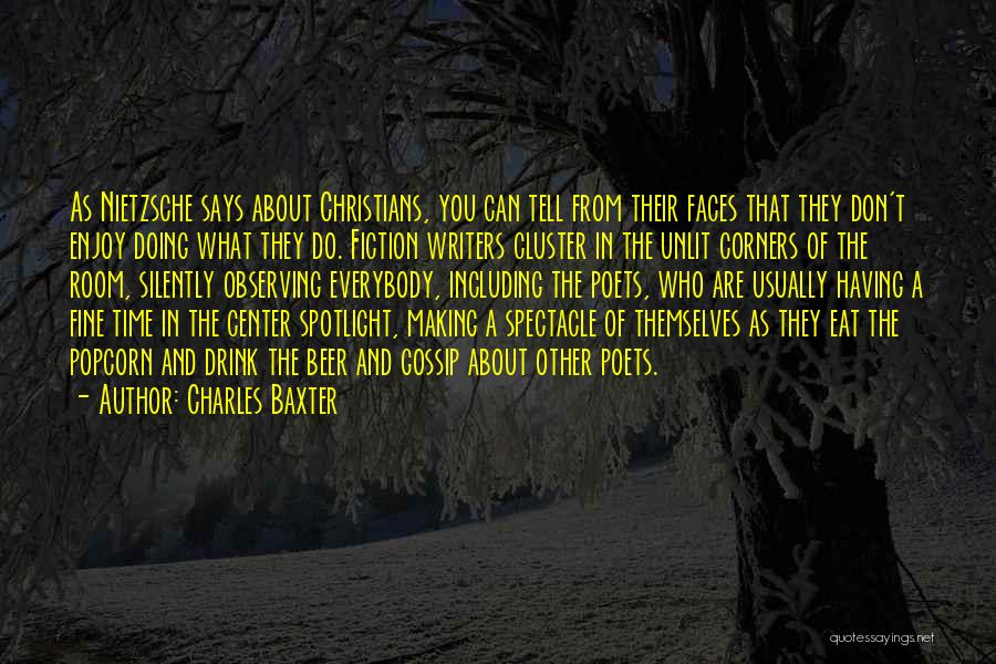 Popcorn Quotes By Charles Baxter