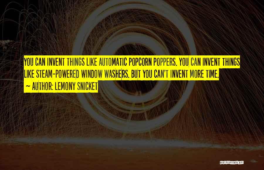 Popcorn Quotes By Lemony Snicket