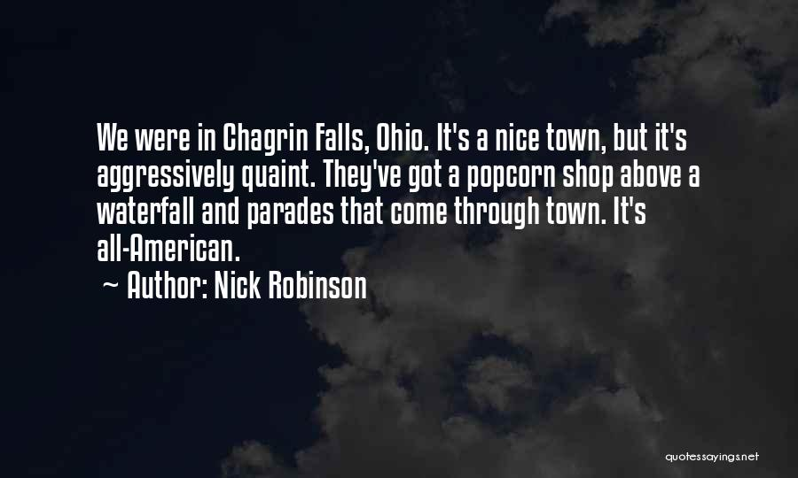 Popcorn Quotes By Nick Robinson