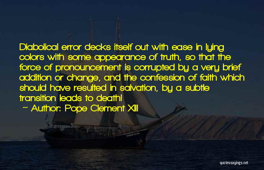 Pope Clement XIII Quotes 1134858