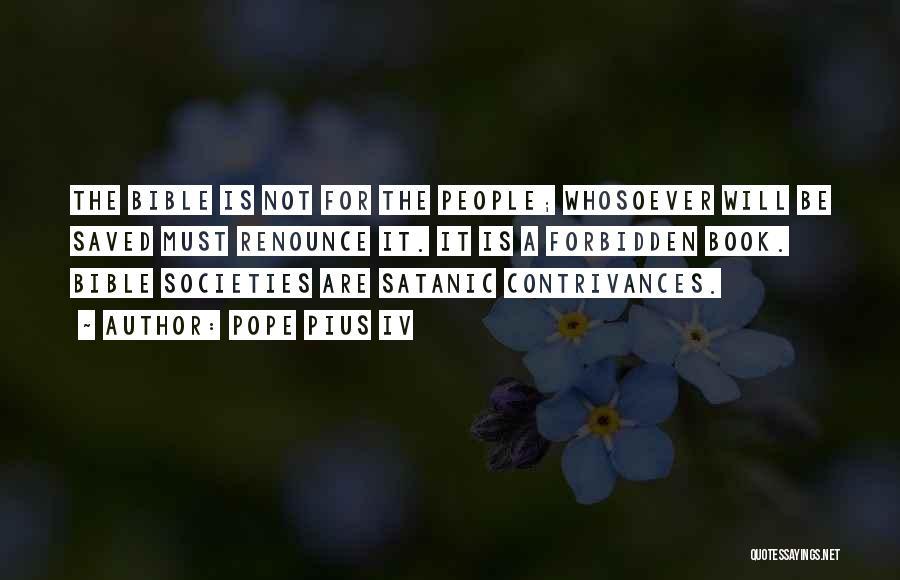 Pope Pius IV Quotes 2070079