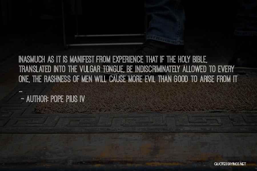 Pope Pius IV Quotes 2127817