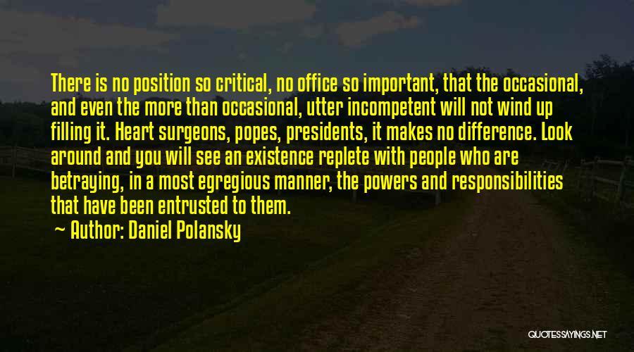 Popes Quotes By Daniel Polansky