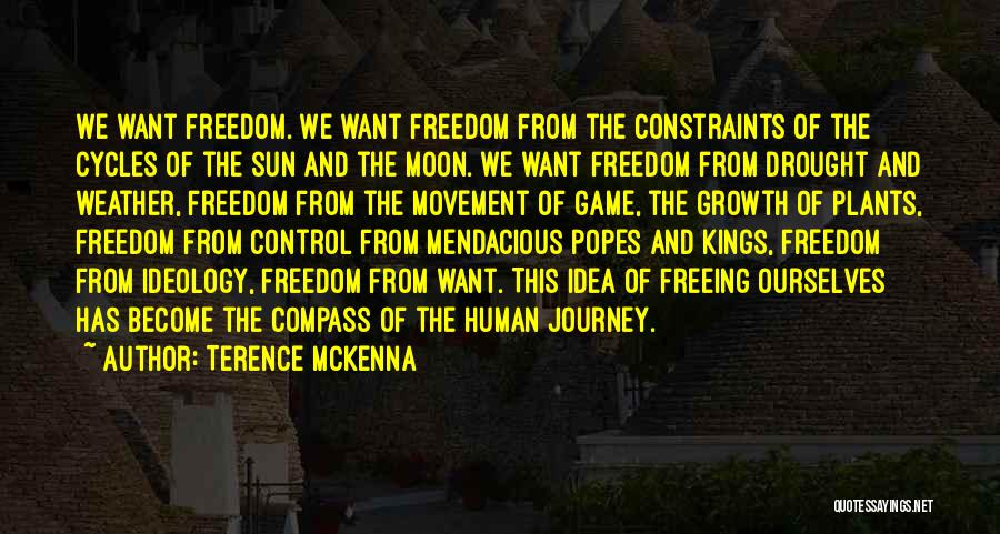Popes Quotes By Terence McKenna