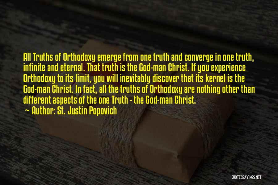 Popovich Quotes By St. Justin Popovich