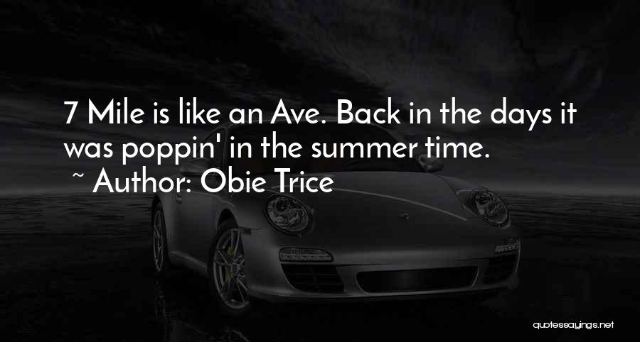 Poppin Quotes By Obie Trice