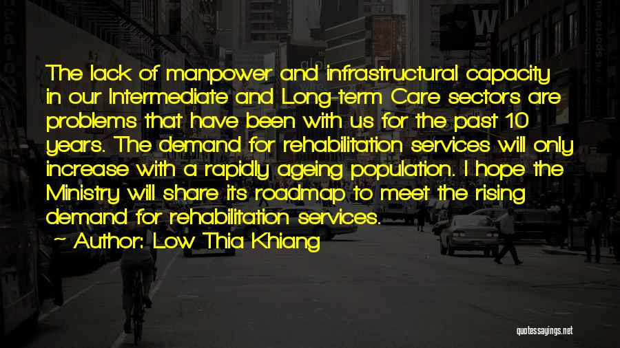 Population Ageing Quotes By Low Thia Khiang