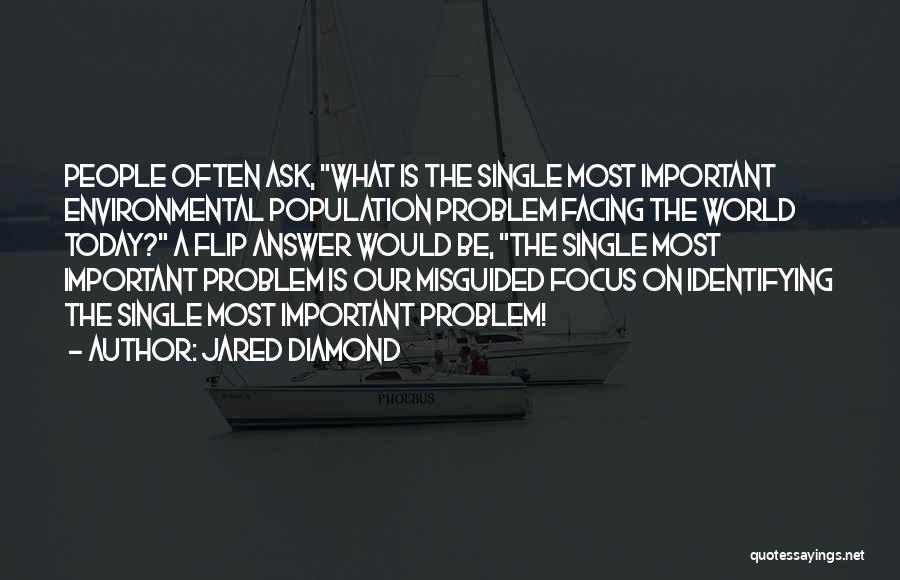 Population Problem Quotes By Jared Diamond