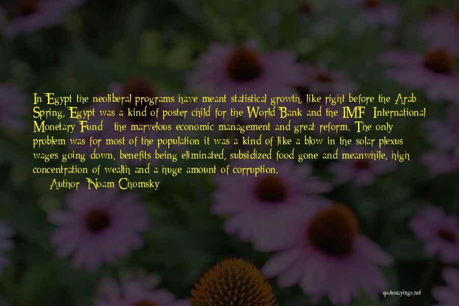 Population Problem Quotes By Noam Chomsky