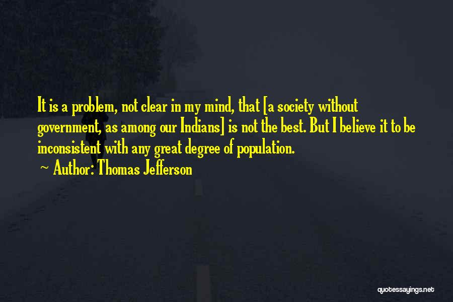 Population Problem Quotes By Thomas Jefferson