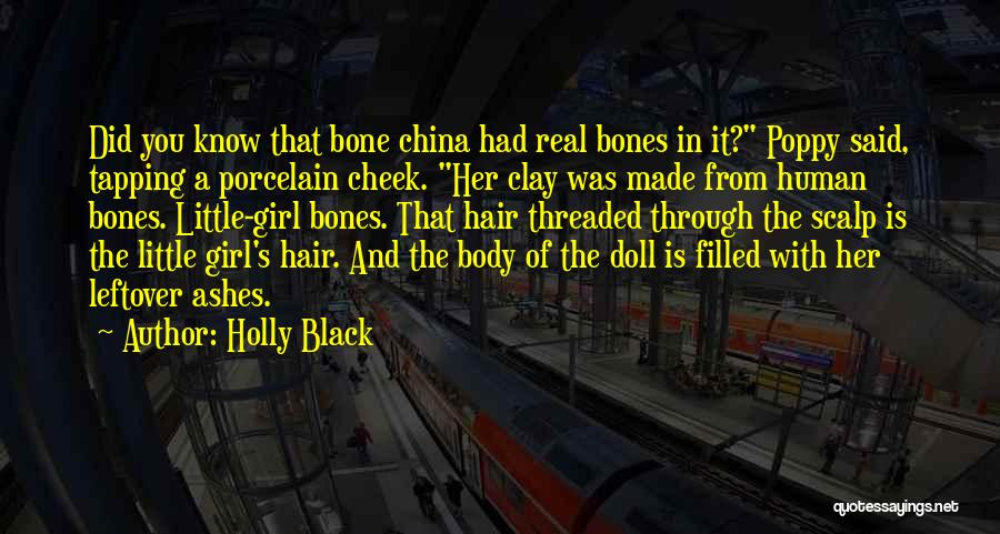 Porcelain Doll Quotes By Holly Black