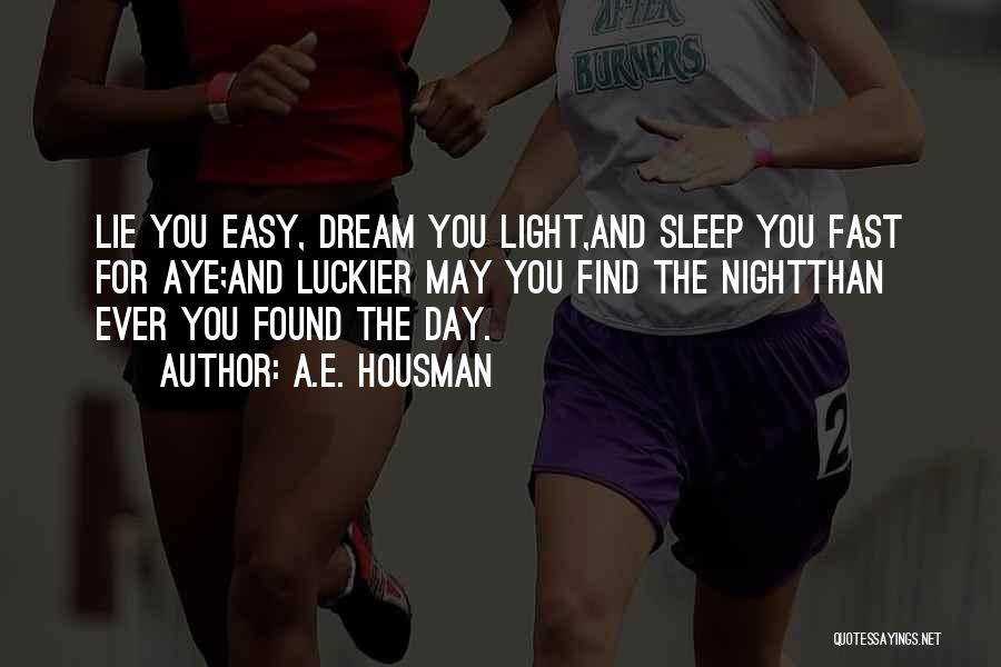 Portland Quotes By A.E. Housman