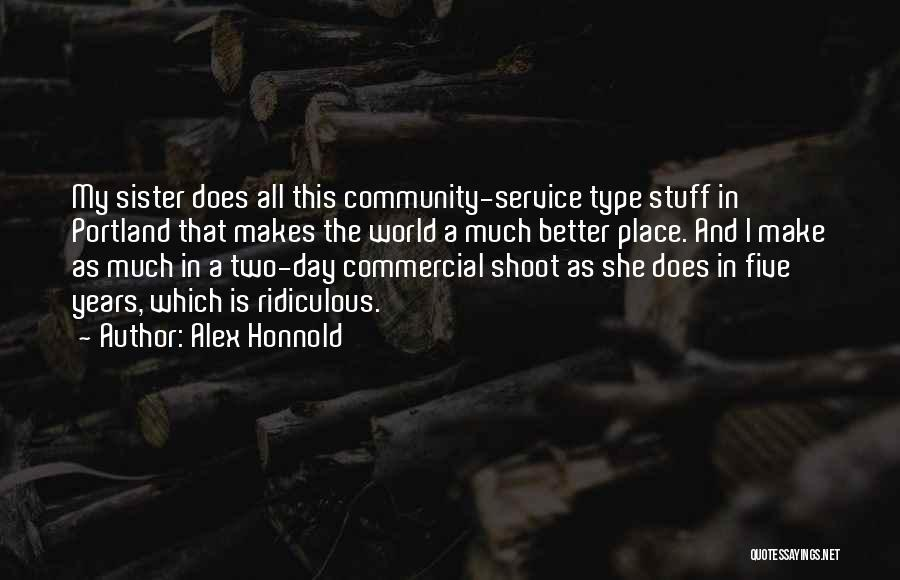 Portland Quotes By Alex Honnold