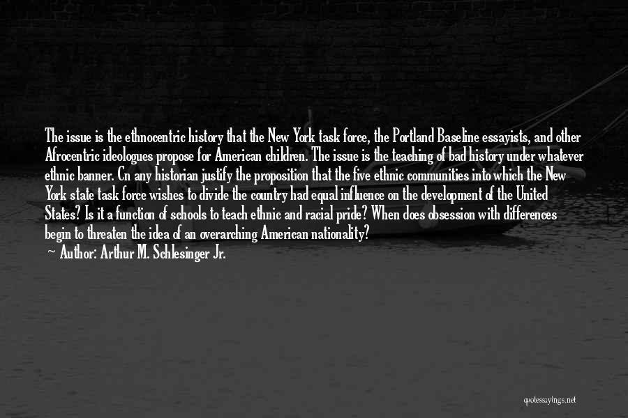 Portland Quotes By Arthur M. Schlesinger Jr.