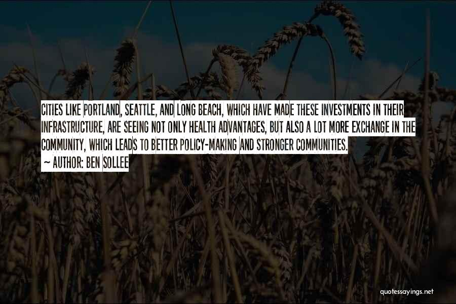 Portland Quotes By Ben Sollee
