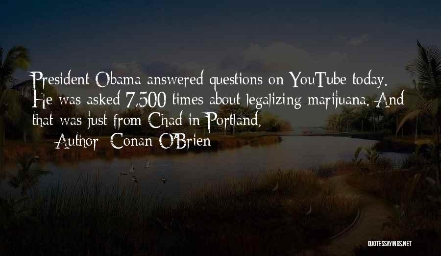 Portland Quotes By Conan O'Brien