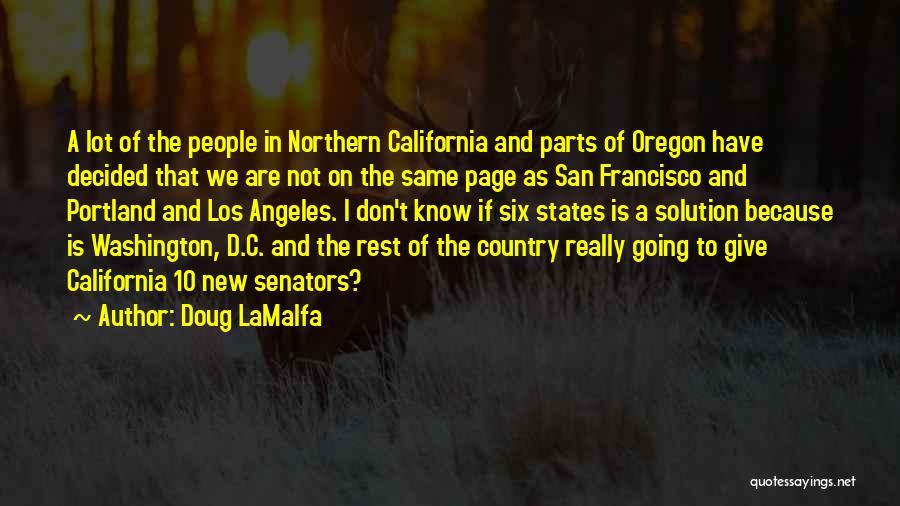 Portland Quotes By Doug LaMalfa