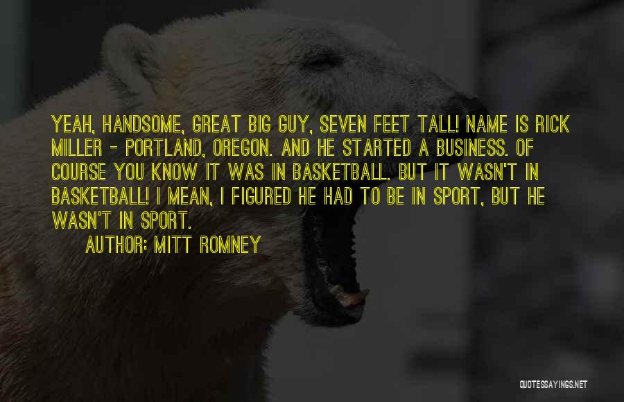 Portland Quotes By Mitt Romney