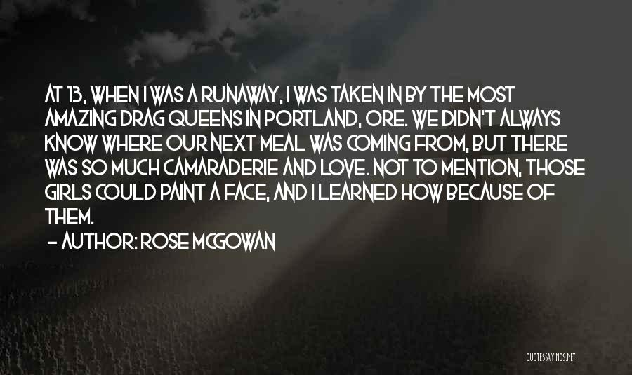 Portland Quotes By Rose McGowan