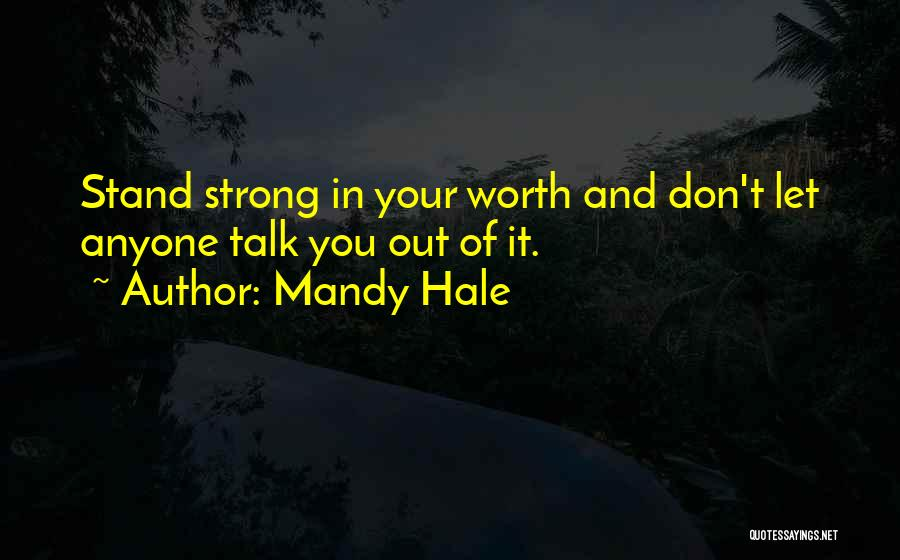 Positive Accepting Quotes By Mandy Hale