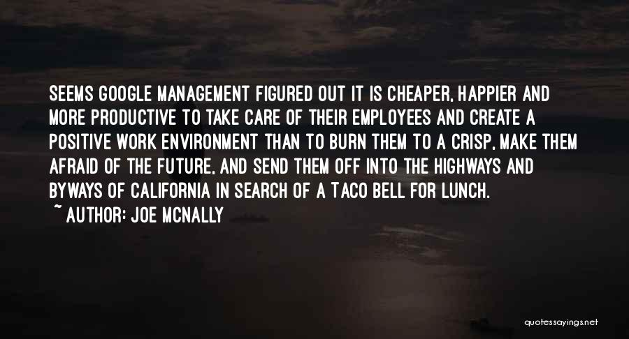 Positive Going To Work Quotes By Joe McNally