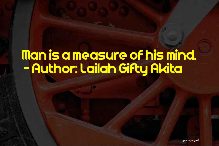 Positive Mind Power Quotes By Lailah Gifty Akita