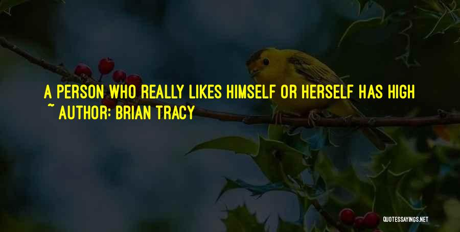 Positive Self Concept Quotes By Brian Tracy