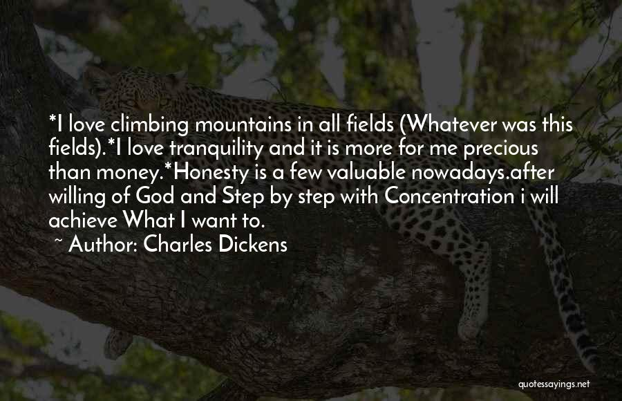 Positive Thinking God Quotes By Charles Dickens