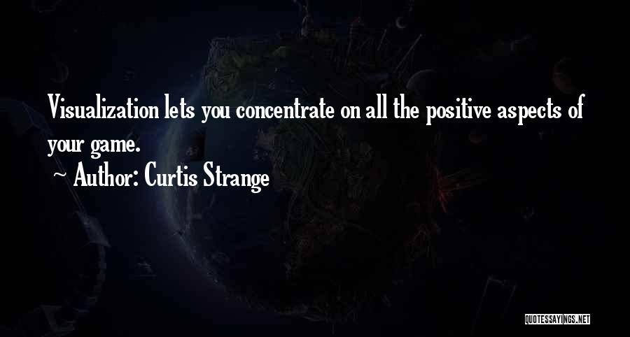 Positive Visualization Quotes By Curtis Strange