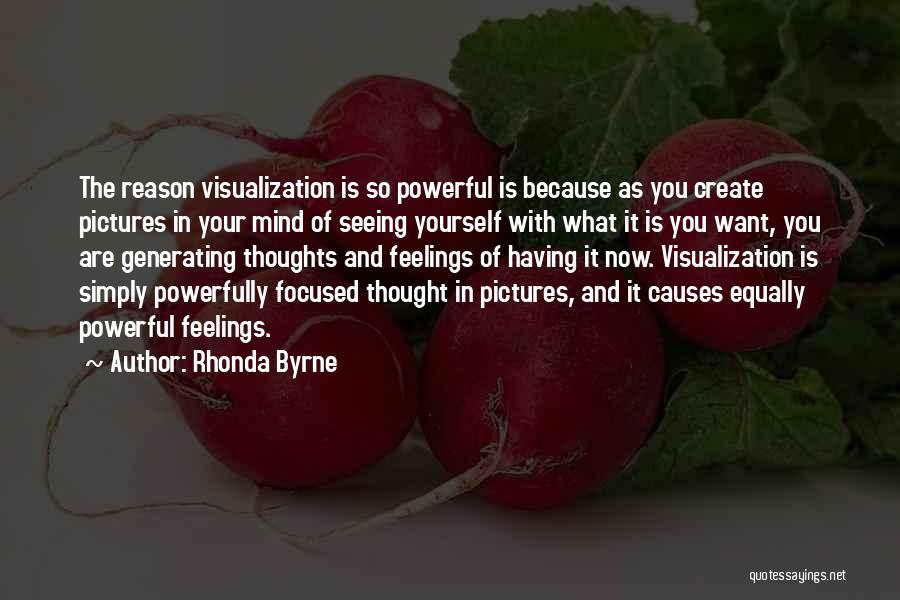 Positive Visualization Quotes By Rhonda Byrne