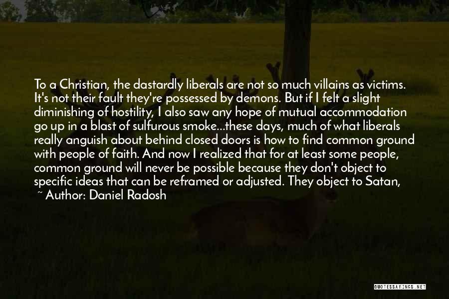 Possessed Love Quotes By Daniel Radosh
