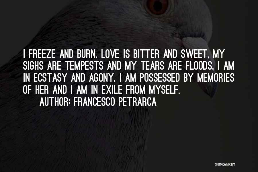 Possessed Love Quotes By Francesco Petrarca