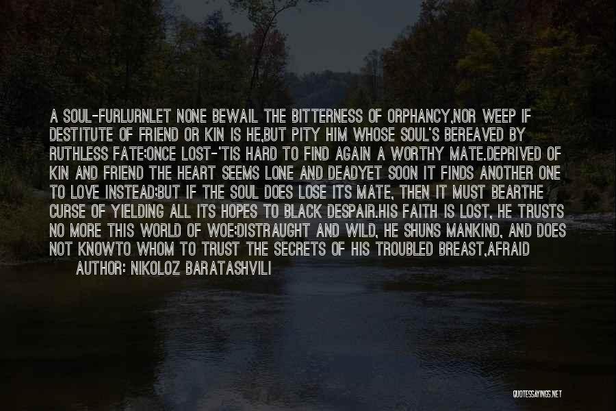 Possessed Love Quotes By Nikoloz Baratashvili